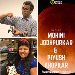 Mohini Jodhpurkar & Piyush Khopkar